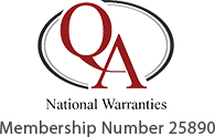 QA National Warranties - Membership Number 25890